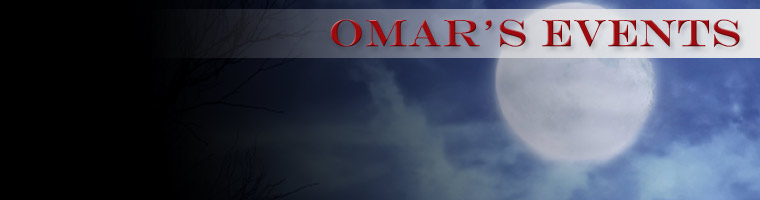 Events Calendar - Omar's Fine Seafood and Steaks - Ashland, OR 97520